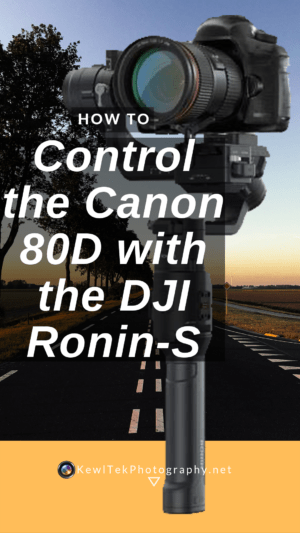 Control your Canon 80d with the Ronin-S