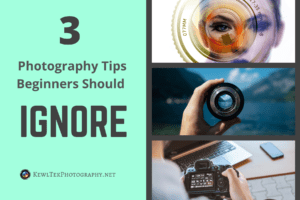 3 Photography Tips Beginners Can Safely Ignore