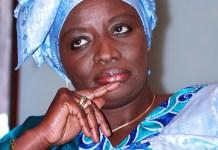 Mimi Touré et Ndèye Fatou Touré en deuil
