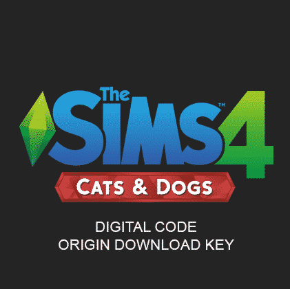 The Sims 4 - Cats and Dogs - Origin Download Key