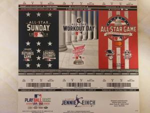 私が 趣味で集めている MLB メジャーリーグの チケット その 3
