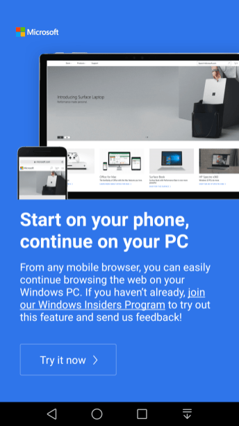 Microsoft Apps for Windows 10 PC Linking5
