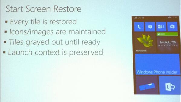 Start Screen Restore