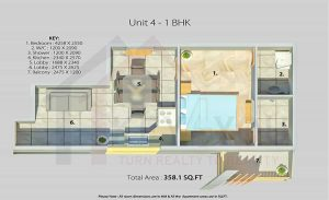 Arete Our Homes Sohna Floor Plan 1