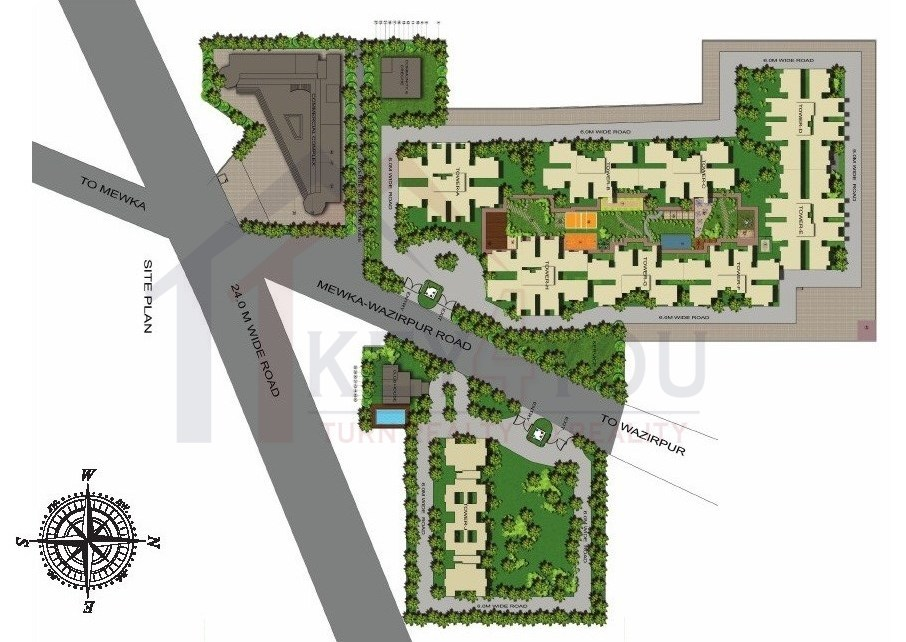 Gls Avenue Sector 92 site plan
