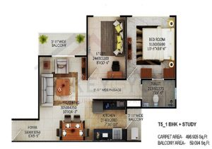 Signature Affordable Sector 79B Gurgaon Floor Plan