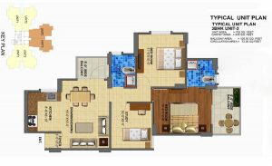 Zara Rossa 112 floor plan