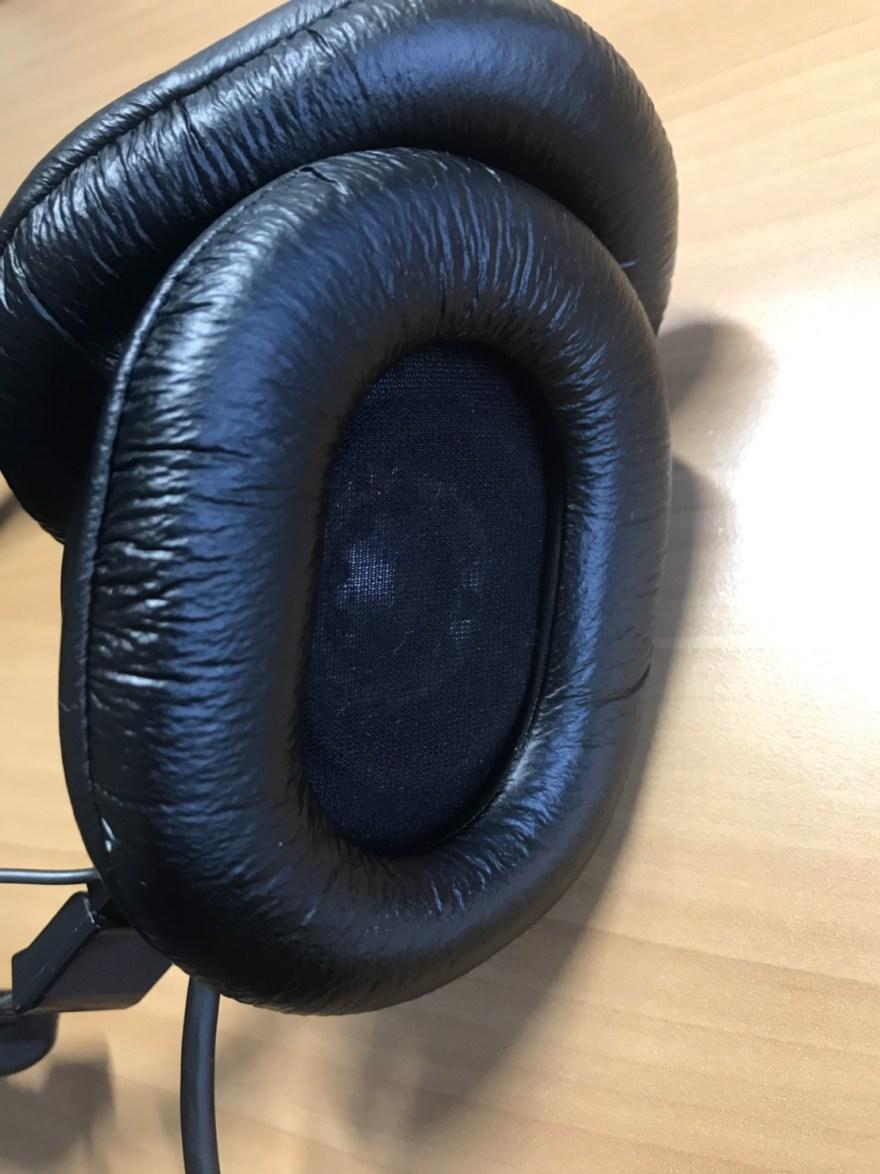 MDR-CD900STのイヤーパッド