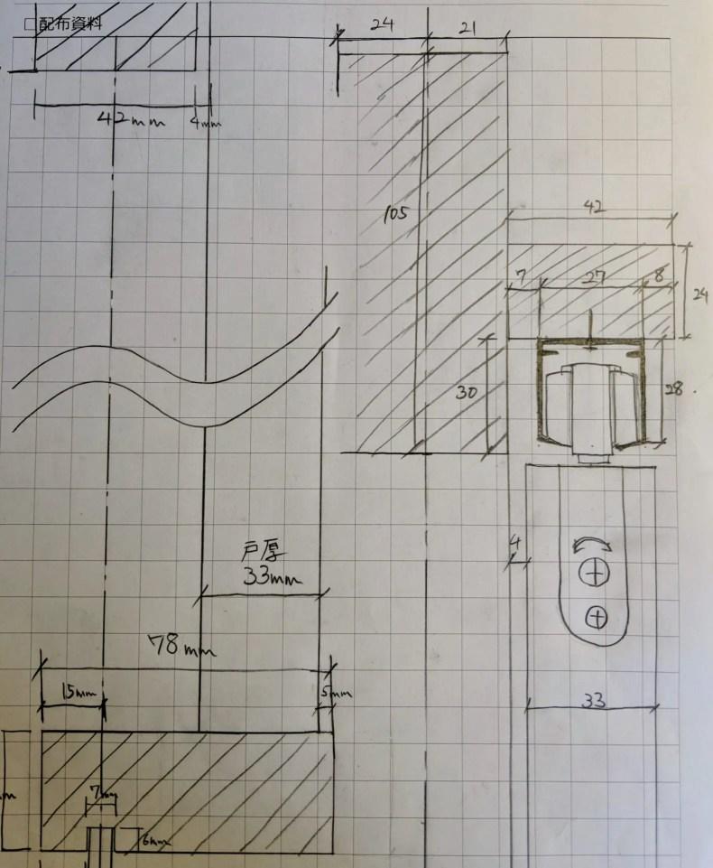 手書き詳細図