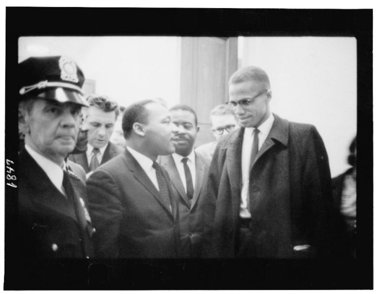 Dr. Martin Luther King, Jr. and Malcolm X