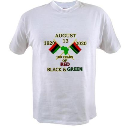 Get your 100 years of Red, Black and Green T-shirt $22.99 http://www.cafepress.com/keyamsha