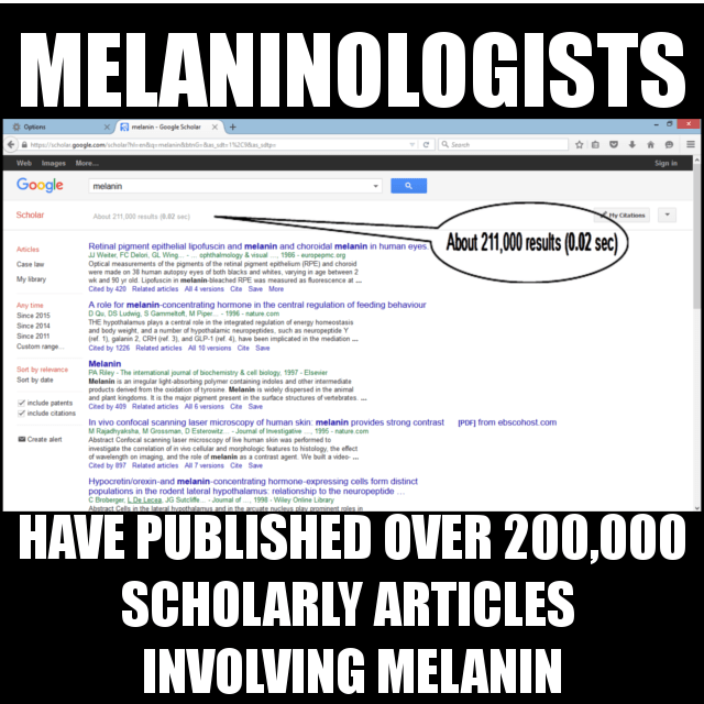 MELANINOLOGISTS