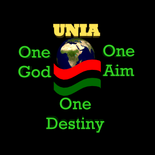 logo of the UNIA wear red black and green on Friday the 13th of august