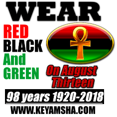 Encourage millions of people to wear Red, Black and Green on August 13
