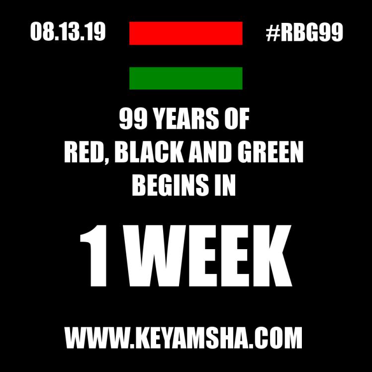 1 week to RBG99