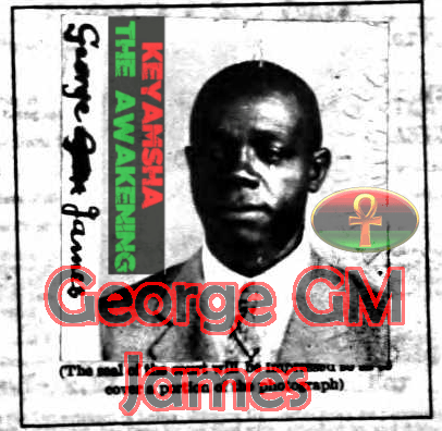 "Provide image of Dr. George Granville Monah James, author of the book ""Stolen Legacy."""