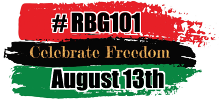 Red, Black and Green begins its 101st year on Friday the 13th of August wear red black and green on Friday the 13th of august