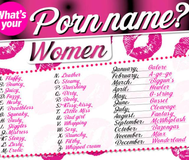Womans Name