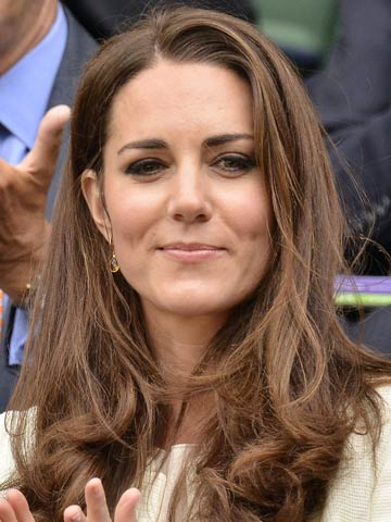 Kate Middletons Fifty Shades Of Grey Her Hair Not The