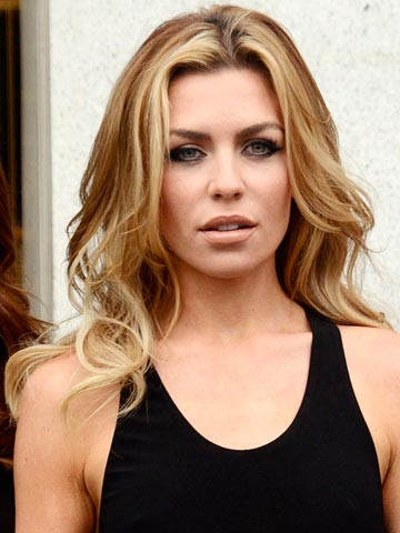 OMG Abbey Clancy Shows Off Hot New Brown Hair On London