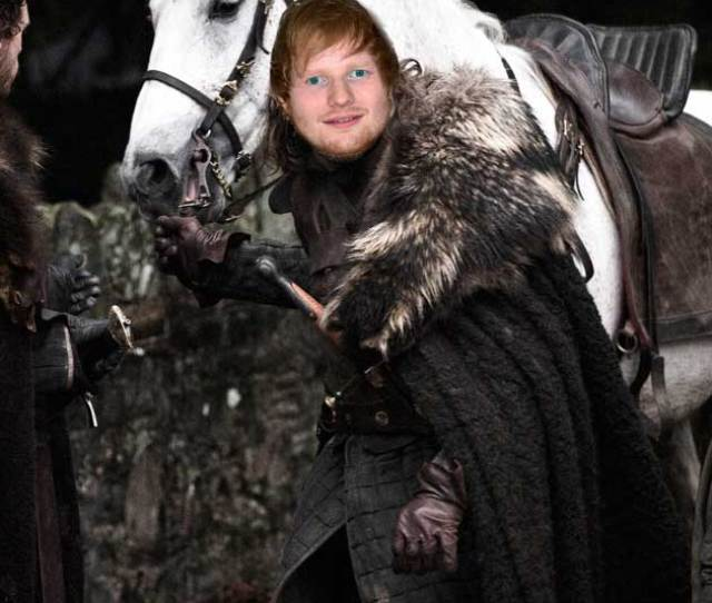 Ed Sheeran On Game Of Thrones Could This Be The Best News Ever Celebsnow
