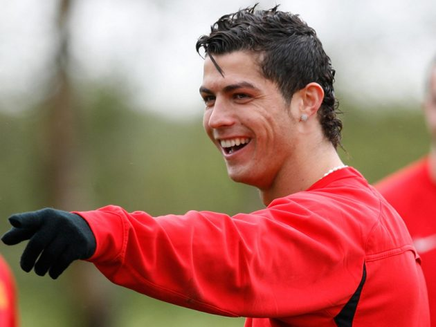 Cristiano Ronaldo See Amazing Pictures Of His Changing Face