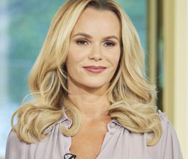 Hes One Lucky Man Amanda Holden Delights Fans In Red Lingerie With Super Sexy Birthday Video For Husband Chris