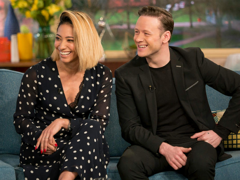 Karen Clifton and Kevin Clifton