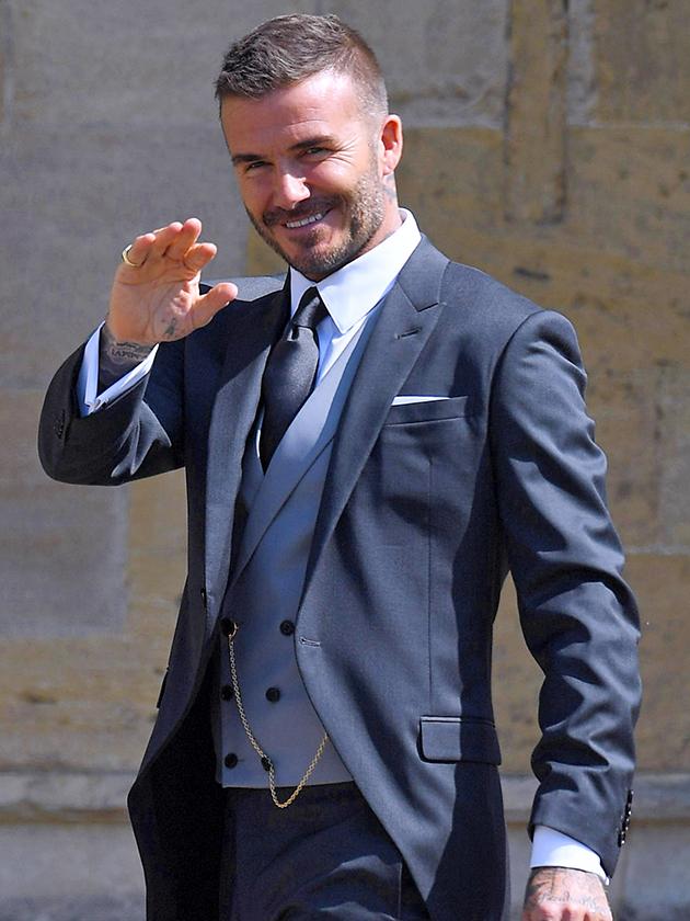 Royal Wedding 2018 Did You Spot David Beckhams Reaction