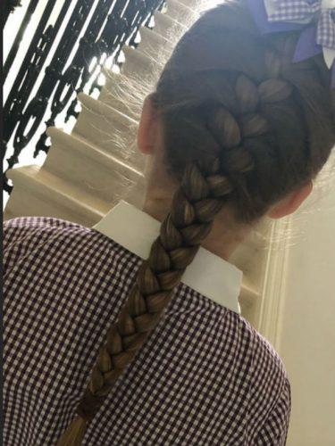 Harper Beckham hair