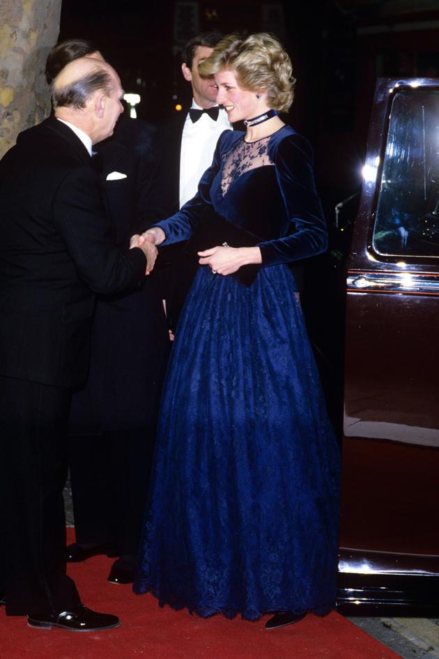Princess Diana At The Onward And Upward Play Charity