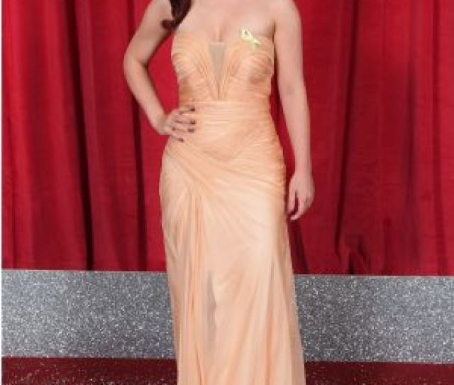 Shona Mcgarty The British Soap Awards