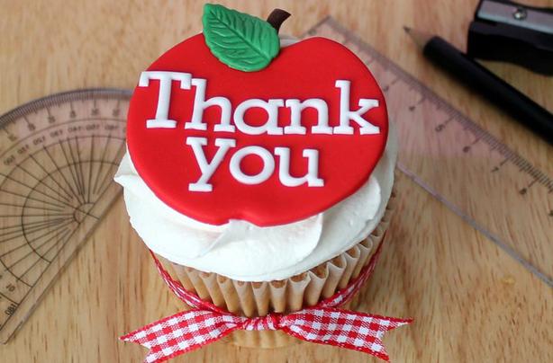 Teachers Thank You Cupcakes Recipe Goodtoknow