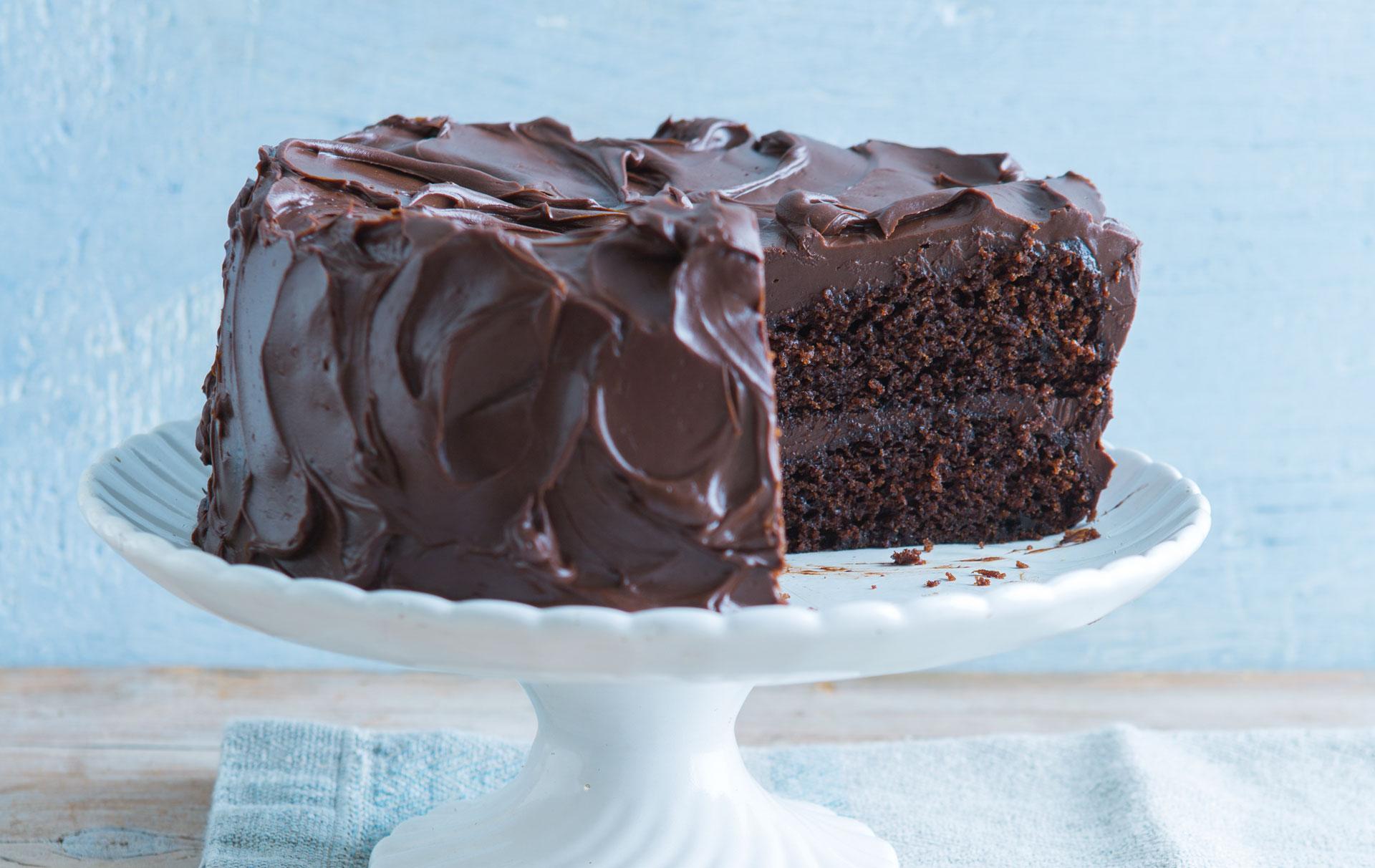 Chocolate Sponge Cake Dessert Recipes Goodtoknow