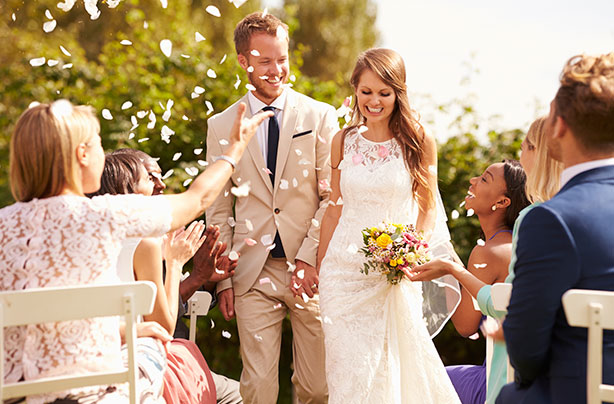 Mums Left Divided Over Weddings That Exclude Children From