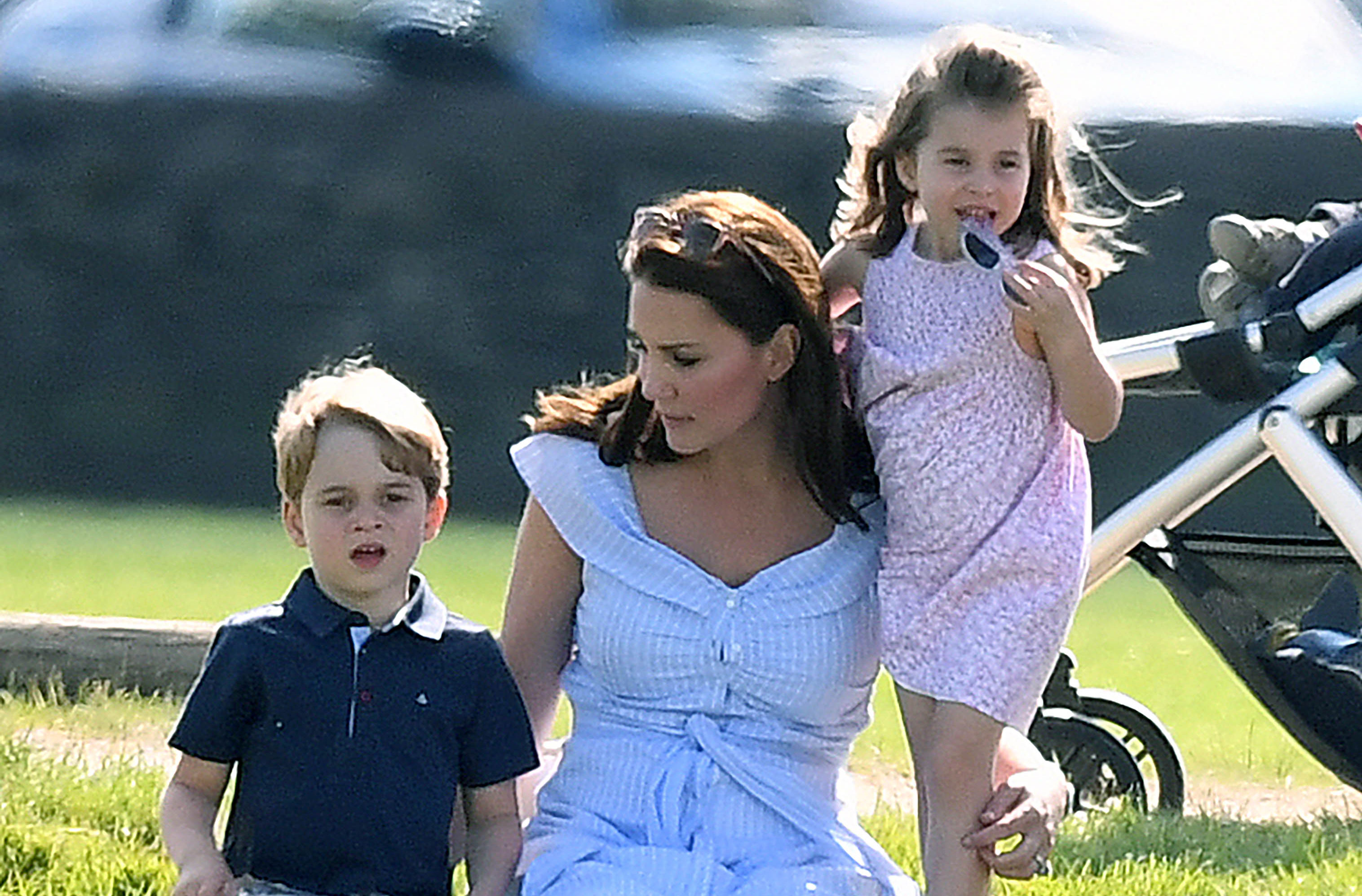 Kate Middletons Clever Trick To Get Prince George And