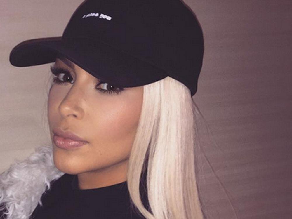 Kim Kardashians Blonde Hair Is Causing Confusion Look