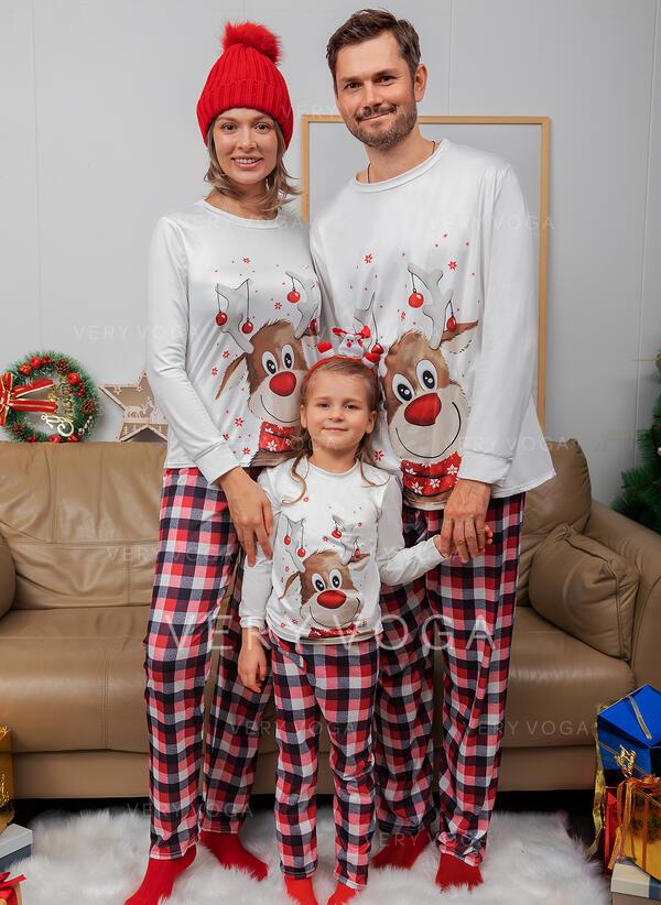 Reindeer Christmas pyjamas