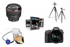 Portrait photography kit list