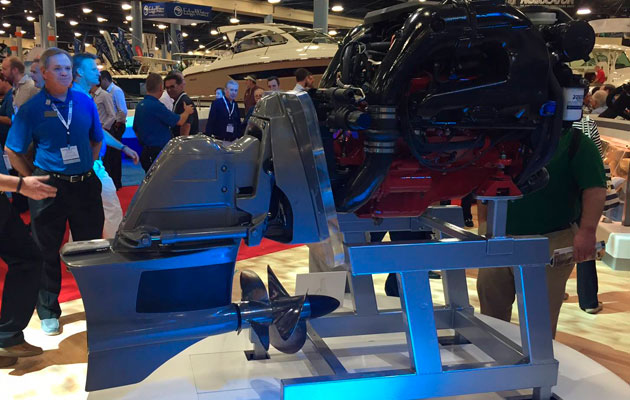 Volvo Penta Launches Forward Drive At Miami Boat Show