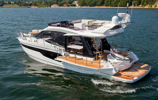Galeon 500 Fly Snapped Before Cannes Show Debut Motor