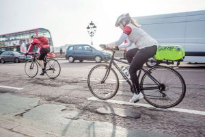 You'll need hardwearing road bike tyres for your commute