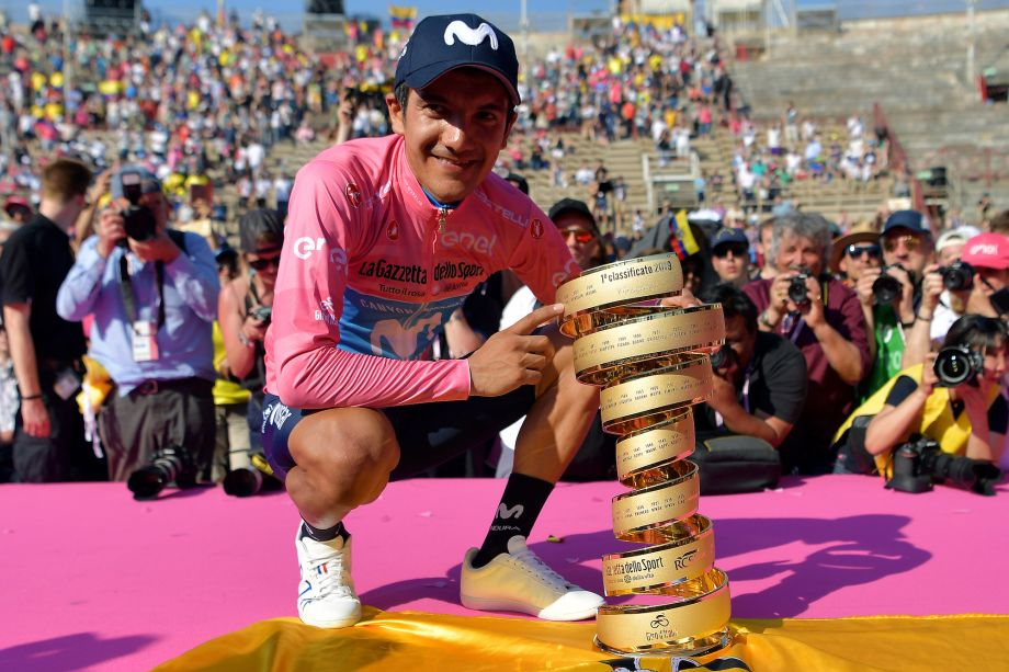 Richard Carapaz may have to ride and drive 900km to catch flight to Europe to defend Giro d'Italia title
