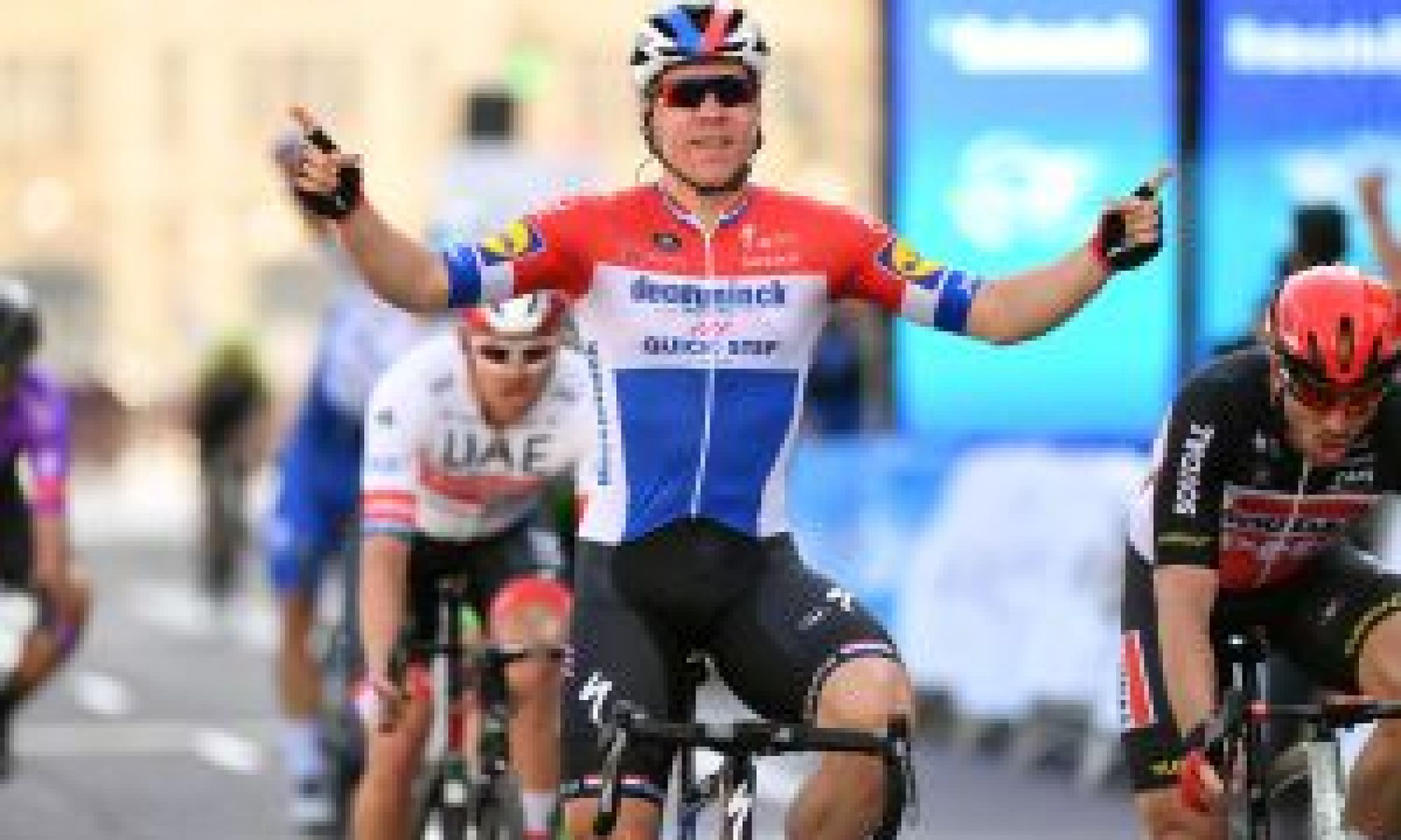 Fabio Jakobsen has facial surgery but remains in an induced coma after Tour of Poland crash