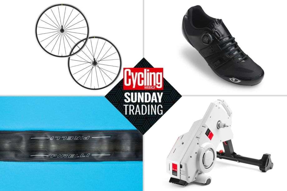 Sunday trading: Save big on Pirelli tyres, Giro shoes and smart turbos