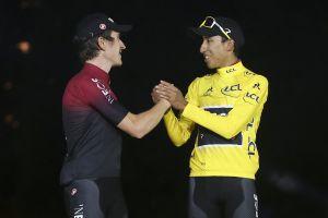Geraint Thomas and Egan Bernal react to Team Ineos Tour de France 2020 announcement