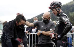 Tour de France: Egan Bernal still dealing with back injury as Brailsford orders forward march