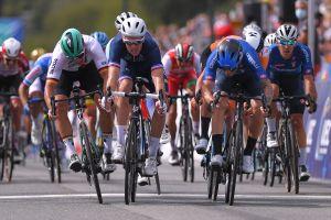 Giacomo Nizzolo wins European Championships road race in dramatic sprint finish