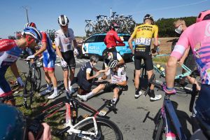 Tour de France 2020: Nicolas Roche shares pictures of wounds caused by cassette in stage 10 crash