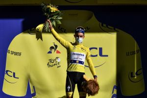 Julian Alaphilippe loses Tour de France lead to Adam Yates after being penalised on stage four